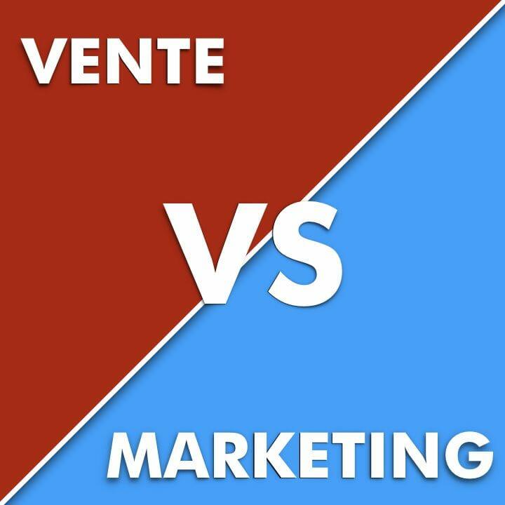 LudovicClain.com Vente vs Marketing